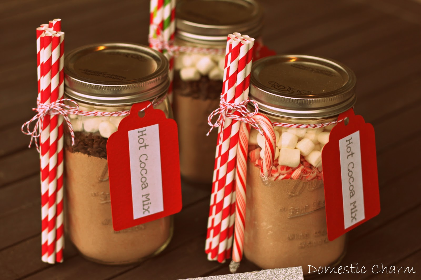 Domestic Charm: Hot Cocoa in a Jar