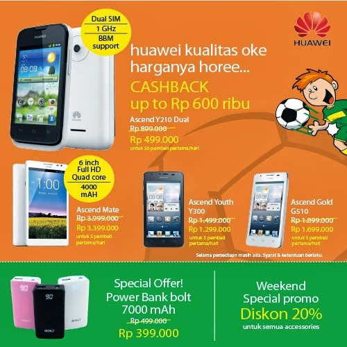 Huawei Promo di MBC (Mega Bazaar Consumer Show) 2014