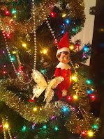 elf on the shelf, elf after the shelf, christmas tree