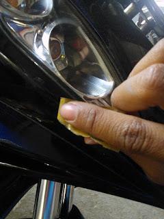 Cara Ampuh Menghilangkan Baret atau Bekas Jatuh dari Bodi Motor