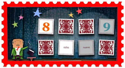 http://www.bbc.co.uk/schools/primarylanguages/spanish/numbers/games/magic_cards_numbers1_10/popup/