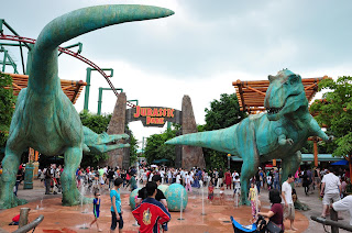 LOST WORLD PARK Universal Studio Singapore