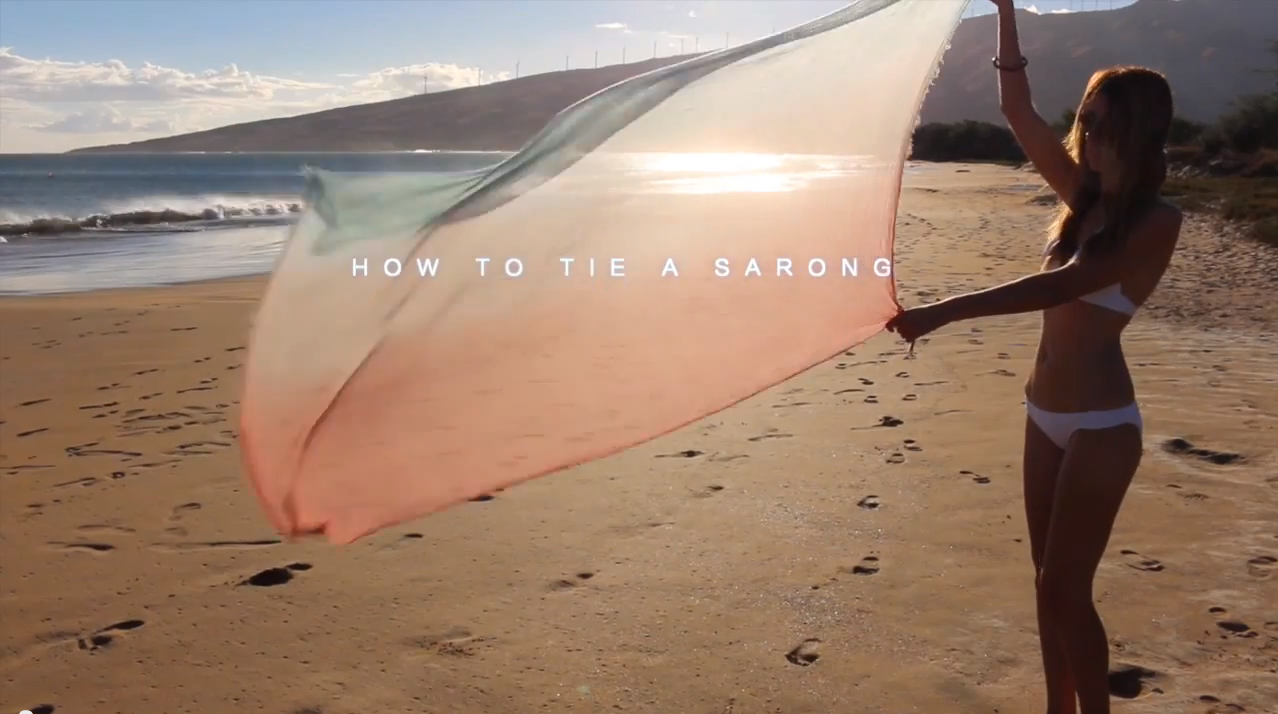 18 Ways To Wear A Sarong Video