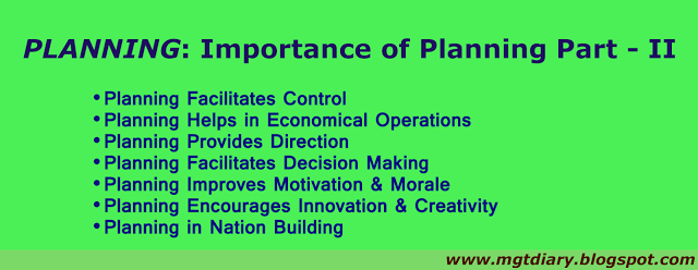 importance of physical planning and management Planning research for policy and practice: the importance of supporting   control and the legitimacy of planning decisions', town planning.