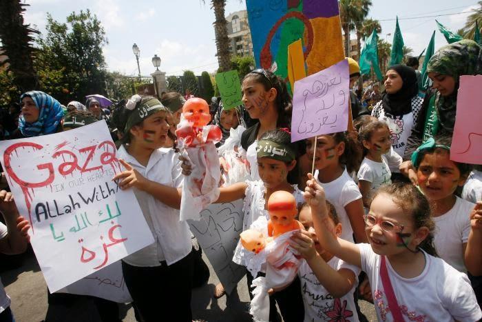 Gambar-gambar Protes anti-Israel seluruh dunia