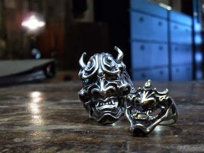 日本雕刻家杉山孝博的銀器品牌Dual Flow 新作 Face Ring