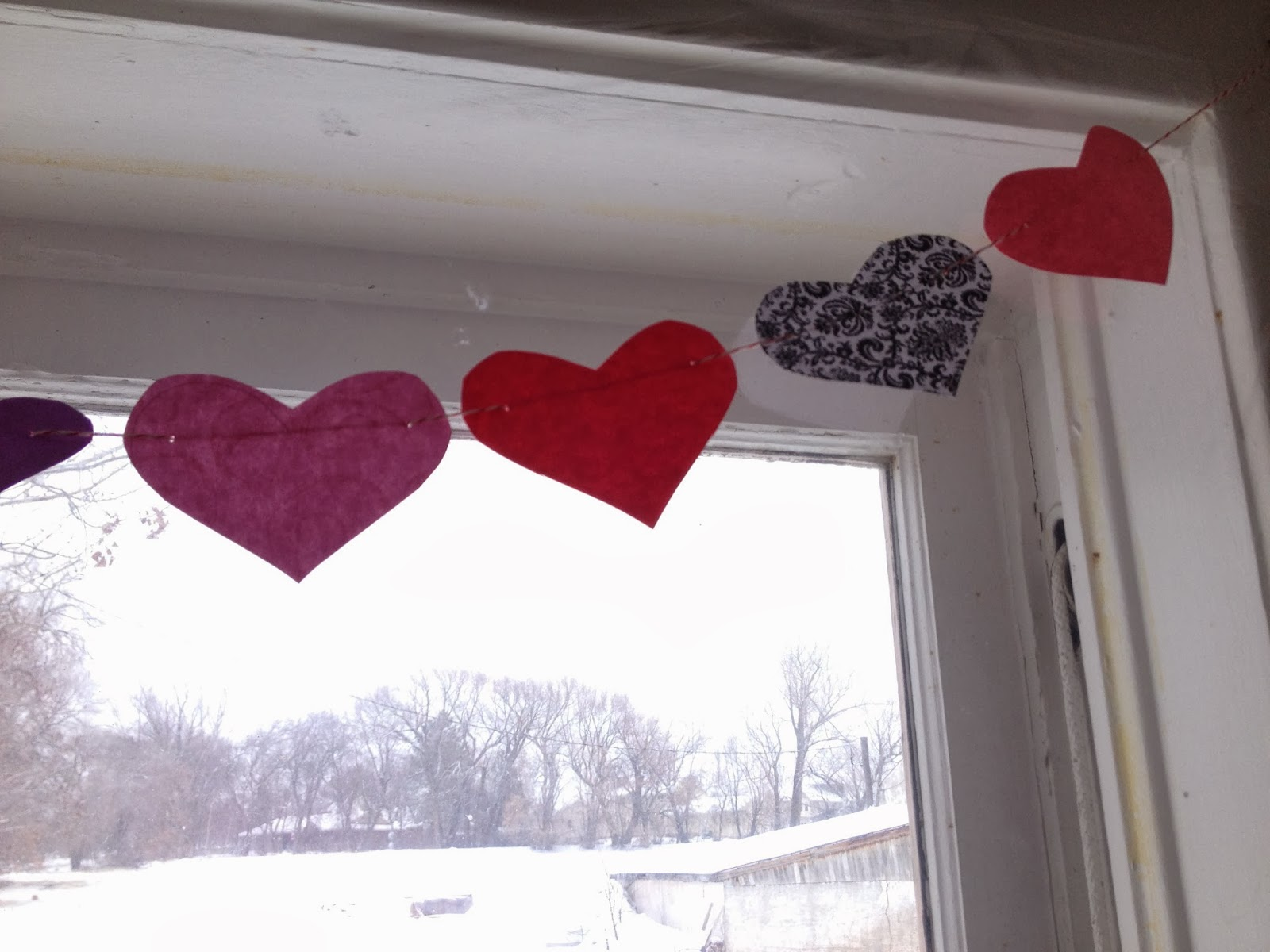 Voice of Reason: DIY Heart Banner