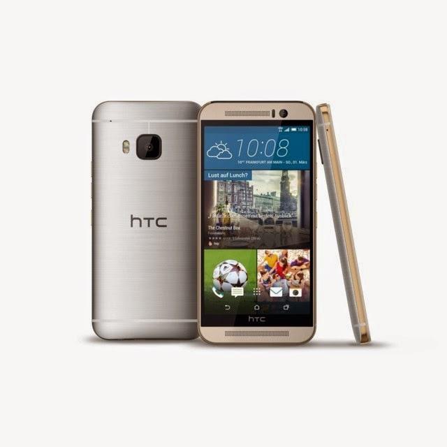 Inilah wujud, spesifikasi dan harga HTC One M9