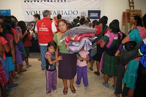 """""""Abriga un corazón"""": campaña del Voluntariado de la SSP para colectar cobijas en beneficio de la si"""