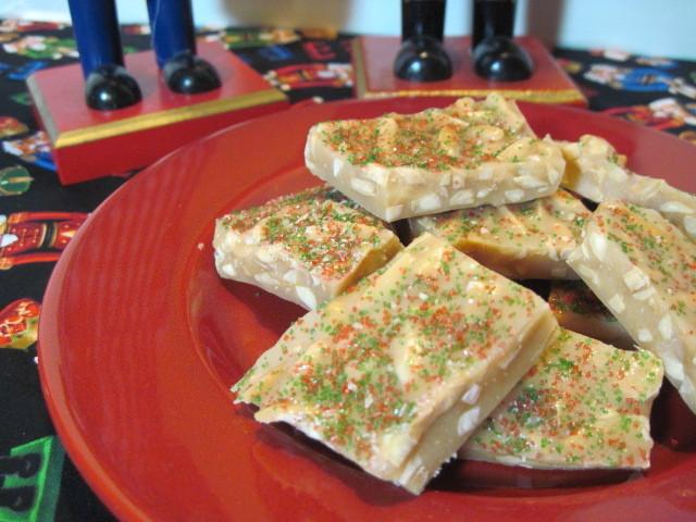 Almond Butter Brittle Recipe