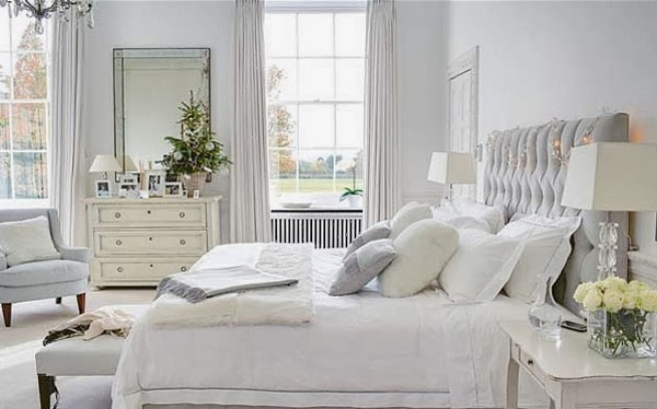 Fresh white and cream bedroom inspiration