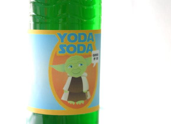 Yoda-Soda für den Star Wars Kindergeburtstag