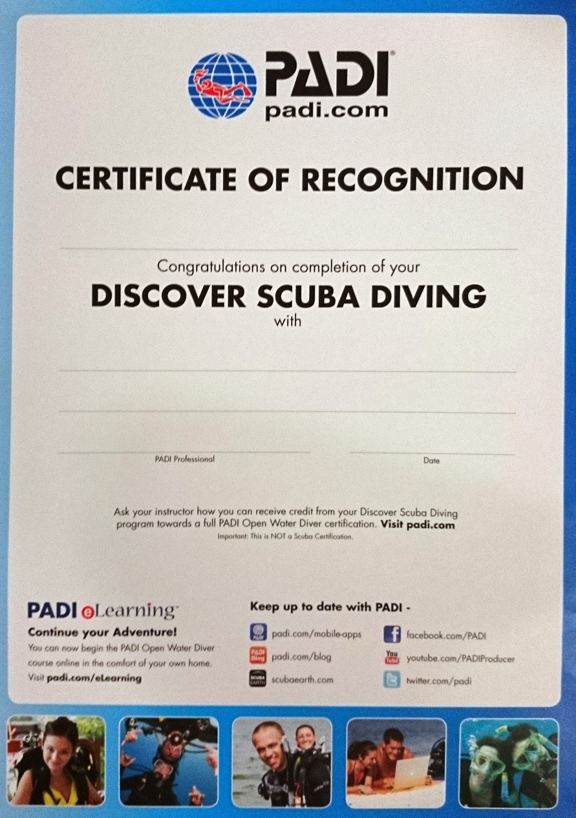 Simplybuy Discovering Scuba The First Time