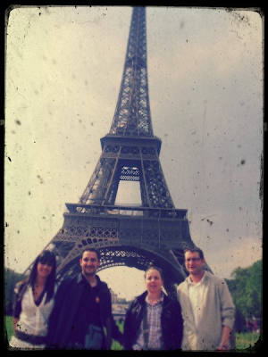 paris vintage torre eiffel tower