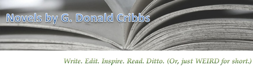 Novels by G. Donald Cribbs