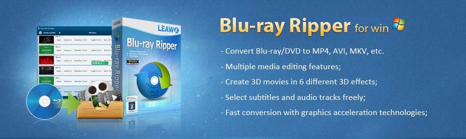 Rip and convert DVD/Blu-ray movies to video