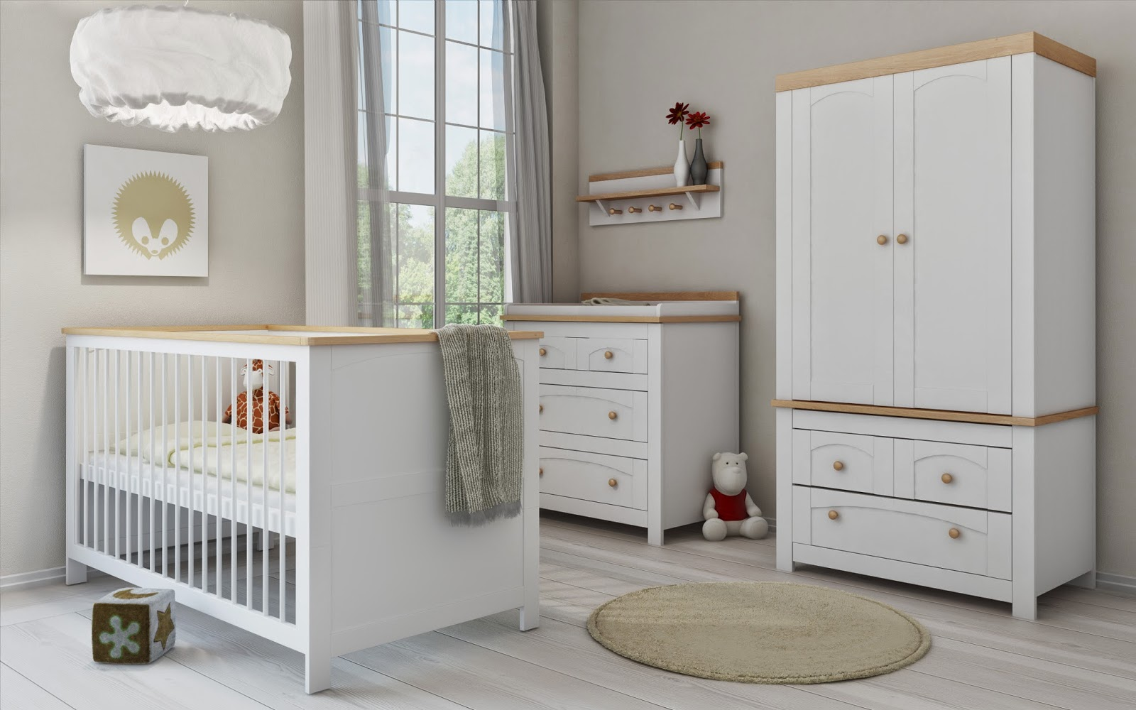 Quality White Nursery Furniture Sets By Pee Dreams