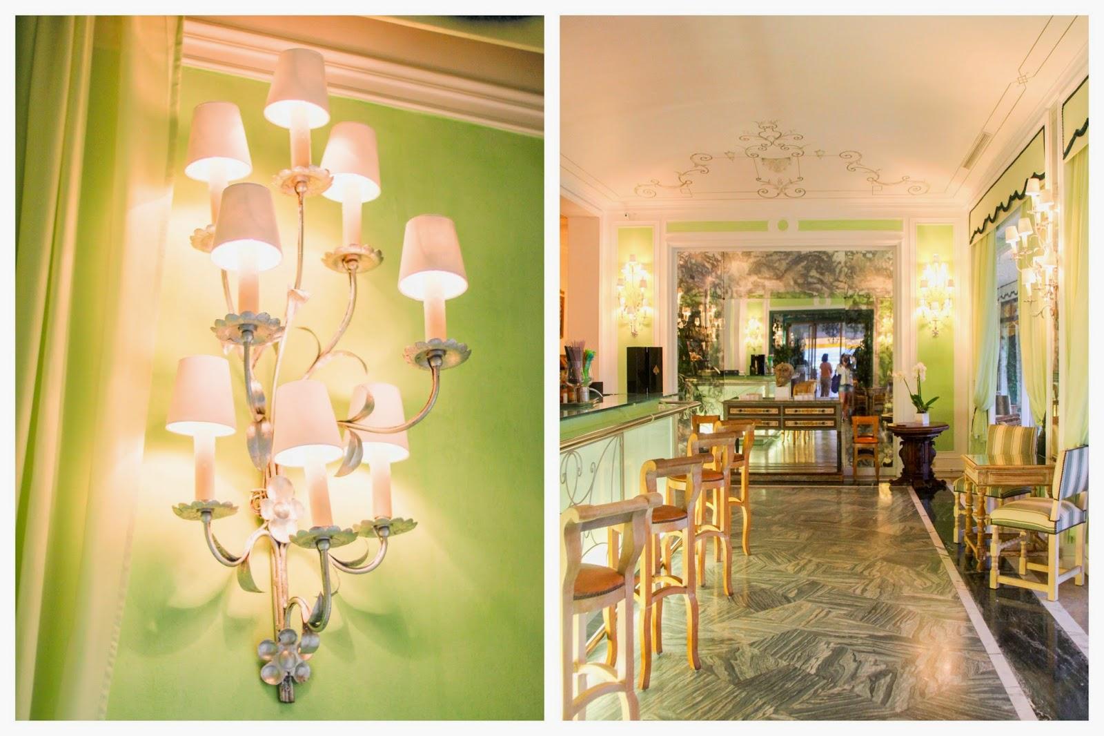 la voile d'or,saint-jean cap ferrat,bar,cocktail,années 60,amicalement votre,palace,hotel,restaurant,marbre,vert,laiton