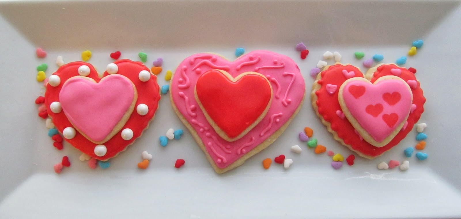 valentine s day and because i am always working to improve my cookie ...