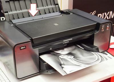 solve printer paper jam canon