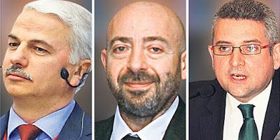 Zeki Yıldırım, Yılmaz Yazıcıoğlu and Günal Kurşun