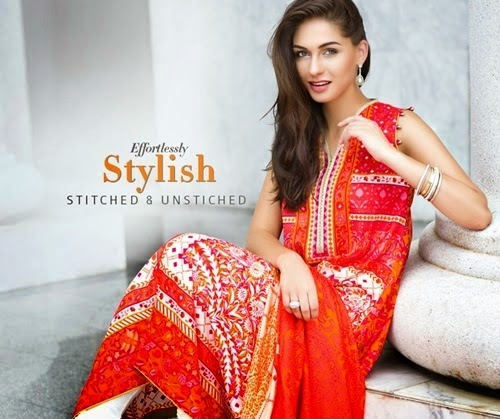 Zeen Eid Festive Dresses 2014