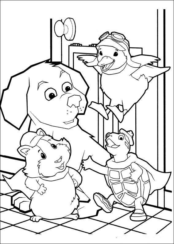 Wonder Pets Coloring Pages title=