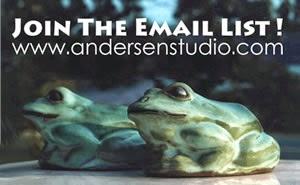 Join The Andersen Studio Email List