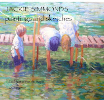 JACKIE SIMMONDS PAINTINGS AND SKETCHES BOOK - click image