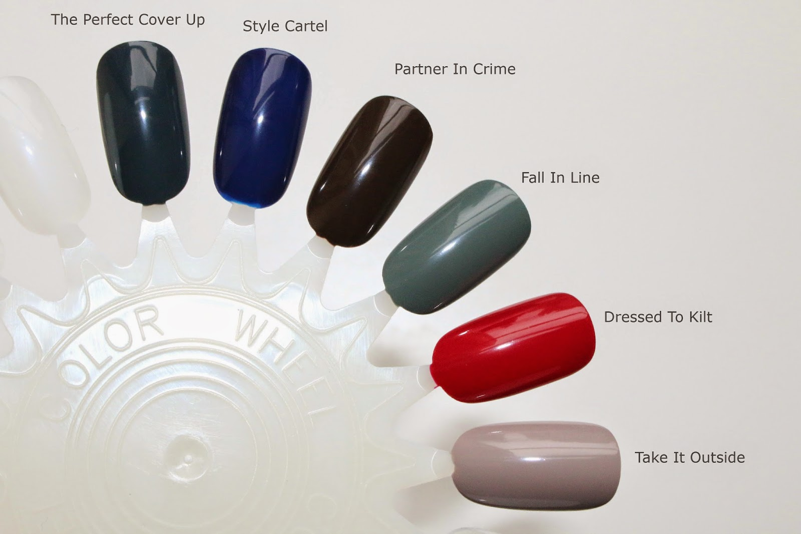 A Little Bit etc.: Essie Fall 2014 Collection With Swatches