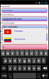Android Custom TextField - Figure 4