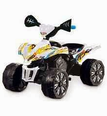 Buy Hotwheels Battery Operated Hotwheels Quad Bike With Brakes at Rs.4797 : Buy To Earn