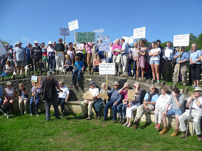 South of Bath Alliance (SOBA) Green Belt Protest Walk