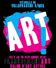 VILLEFRANCHE SUR MER-FRANCHEMENT ART 2012 : CAPTON EXPOSE À LA CITADELLE DU 7 AU 10 SEPTEMBRE 2012