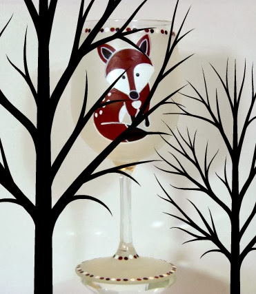 fox wine glass