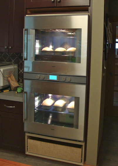 now enter my beast the gaggenau oven the bmw or mercedes of ovens i guess you could say itu0027s fit and finish is great as was wolfu0027s