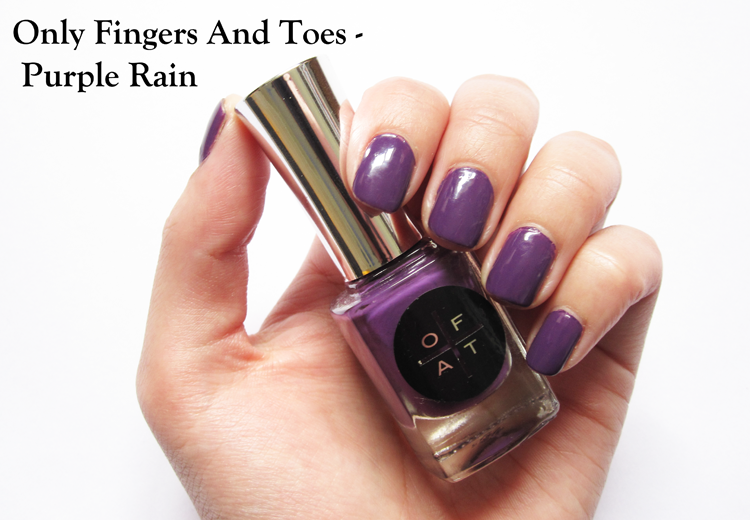 Only Fingers And Toes - Purple Rain swatches