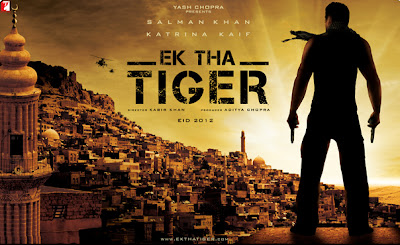 Ek Tha Tiger Salman Khan movie 2012 Poster