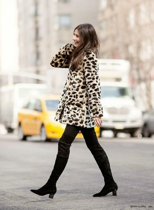 casacos femininos, casaco de oncinha, moda inverno