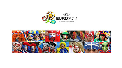 Euro 2012 - football fans Wallpapers
