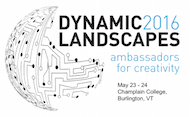 Dynamic Landscapes at Champlain College in Burlington, VT was our highest attended conference yet!