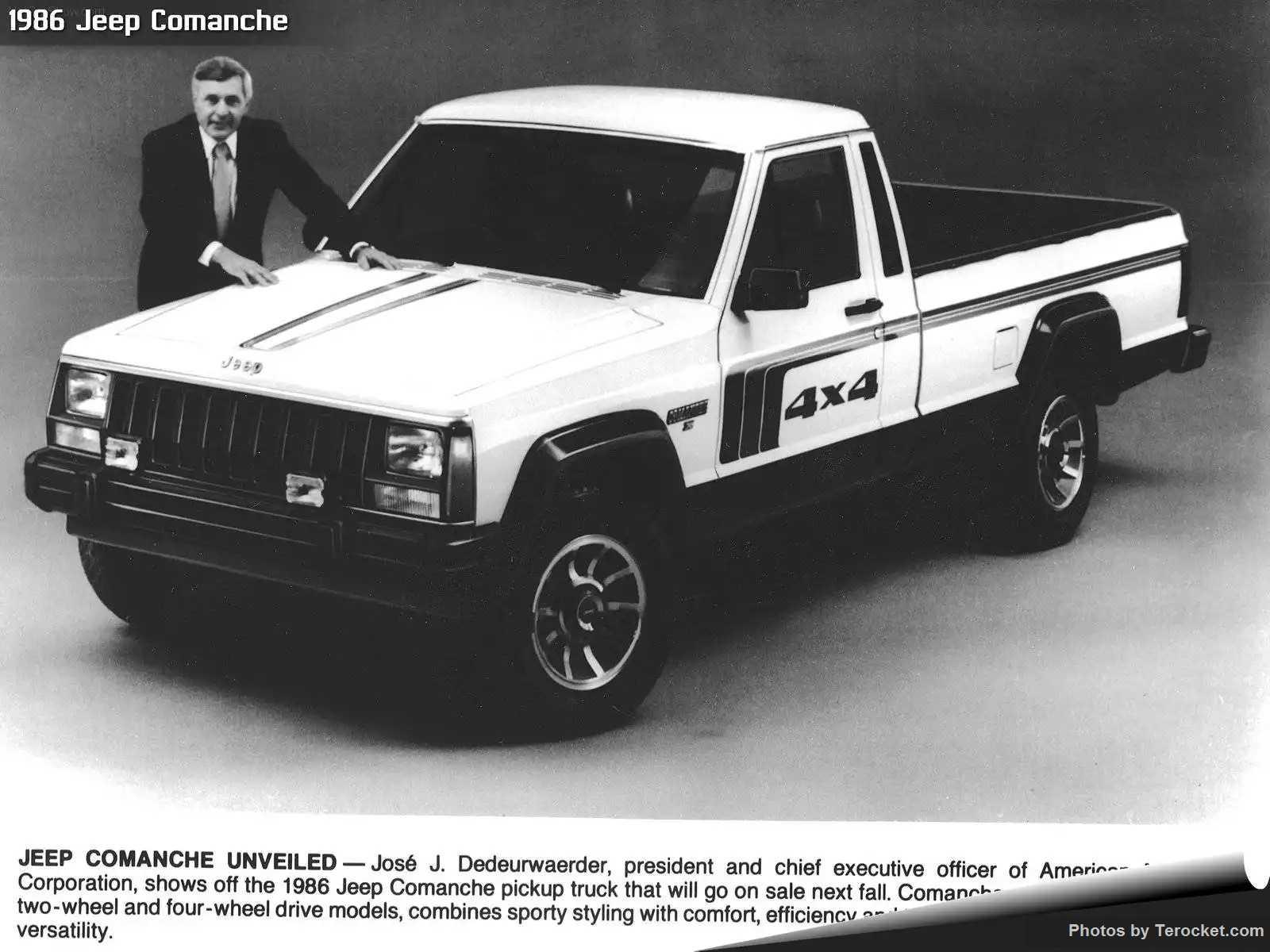 Hình ảnh xe ô tô Jeep Comanche 1986 & nội ngoại thất
