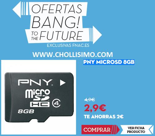 Tarjeta MicroSD con la tarjeta FNAC