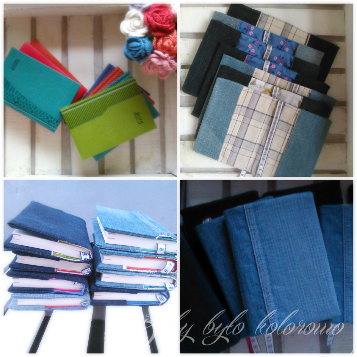 denim cover book