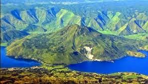 Bentuk Muka Bumi Akibat Tenaga Vulkanik