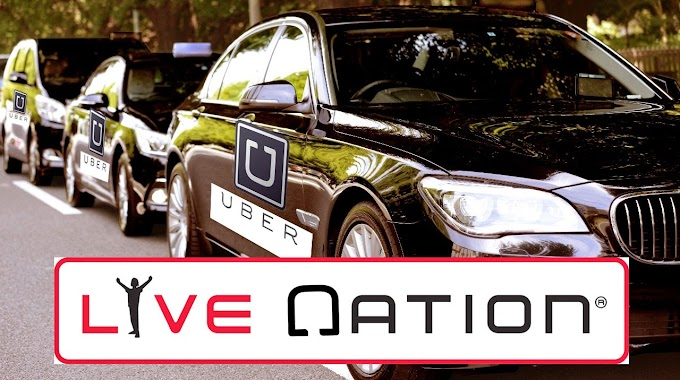 Uber partners with Live Nation for concert rides