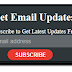 Black Email Subscription Widget for Blogger Blog