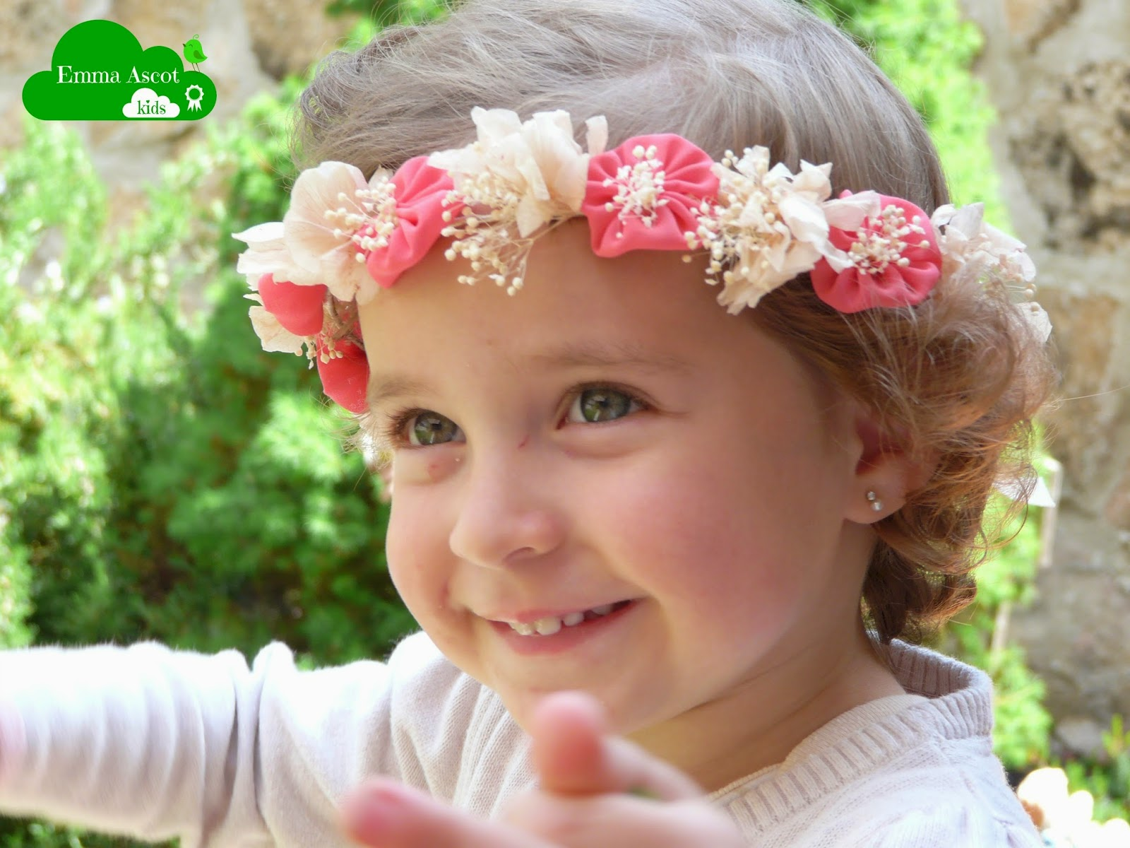 Coronitas de flores para niñas