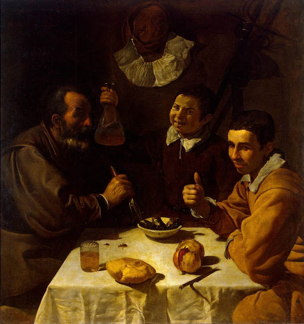 the breakfast, Diego Velazquez, art