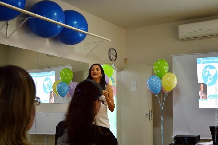 Coach, Andreia Monteiro, Joinville, palestra, blog de acessórios, blogueira, Palestra com Andreia Monteiro